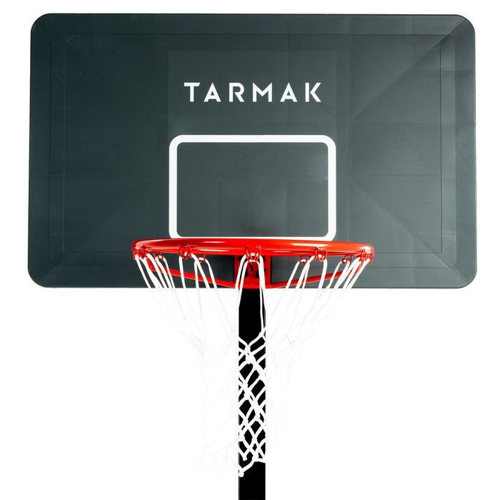 Basketball-Korbanlage B400 Easy schwarz/rot 2,40m bis 3,05m ohne Werkzeug