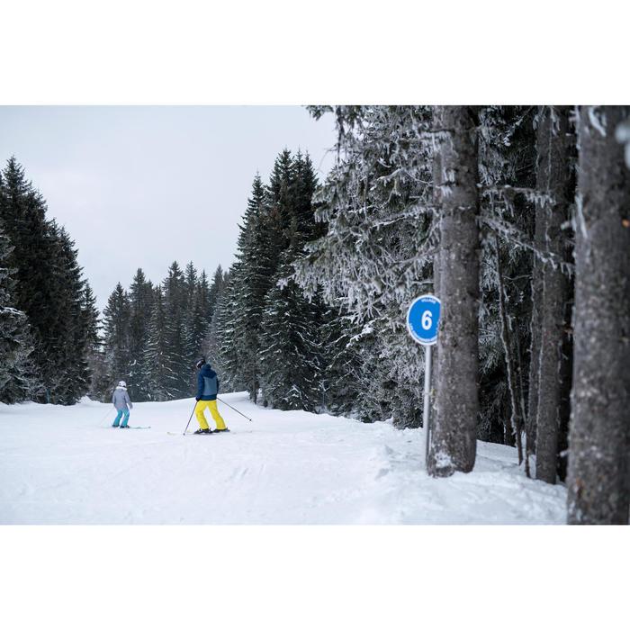 男款下坡滑雪靴WID 300 - 黑色
