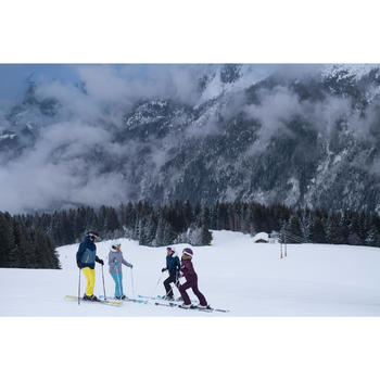 Skischoenen voor heren WID 300 zwart