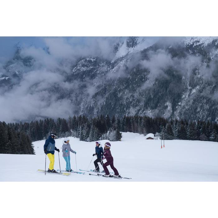Skischuhe Piste Wid 300 Herren schwarz