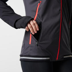 Kiprun Evolutiv Women's Running Jacket - Coral