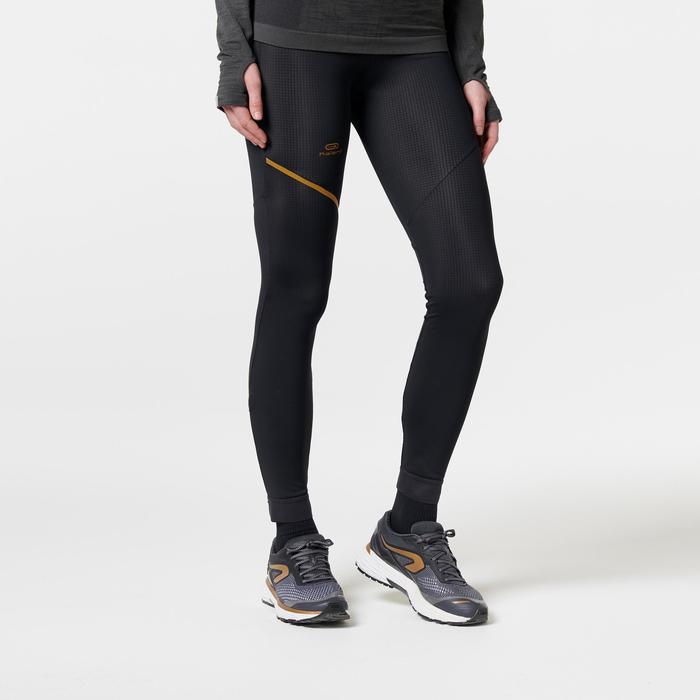 COLLANT RUNNING FEMME KIPRUN WARM NOIR OR