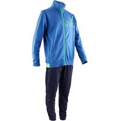 Survêtement Gym garçon bleu Adidas