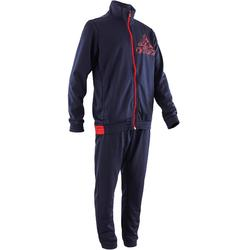 Chándal Gimnasia Adidas Niño Azul Oscuro/Rojo