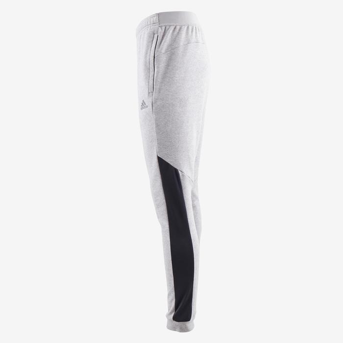 Jogginghose 560 Slim Gym Stretching Herren grau