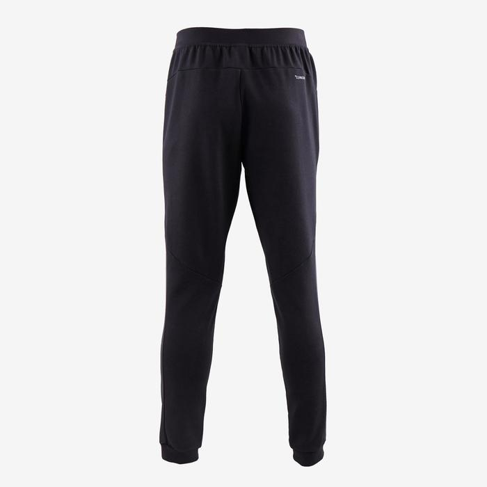 Jogginghose 560 Slim Gym Stretching Herren schwarz