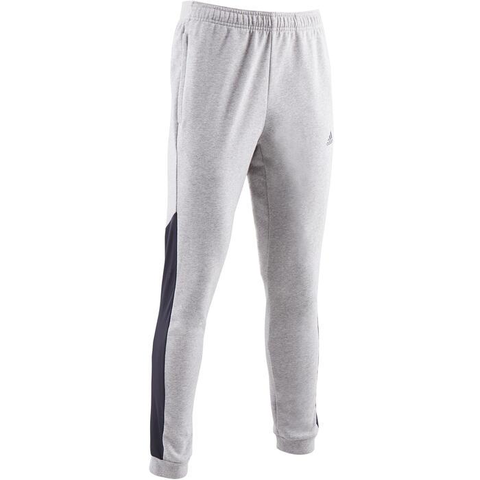 Pantalón Adidas 560 slim Gimnasia Stretching hombre gris Adidas ... b56366c6375f8