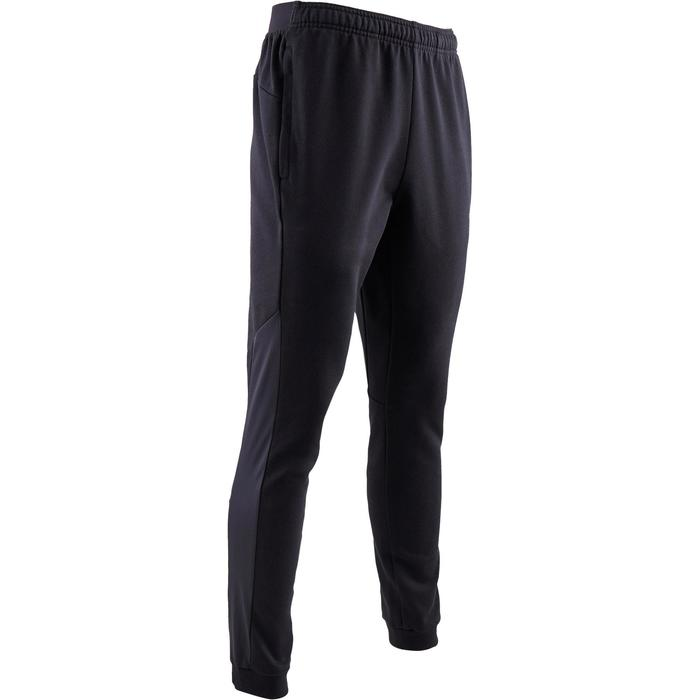 Jogginghose 560 Slim Gym Stretching Herren schwarz
