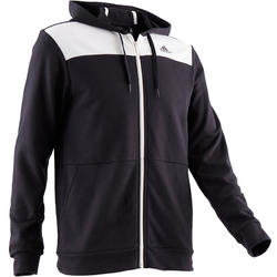 Hoodie Adidas 500 Gym & Stretching zwart heren