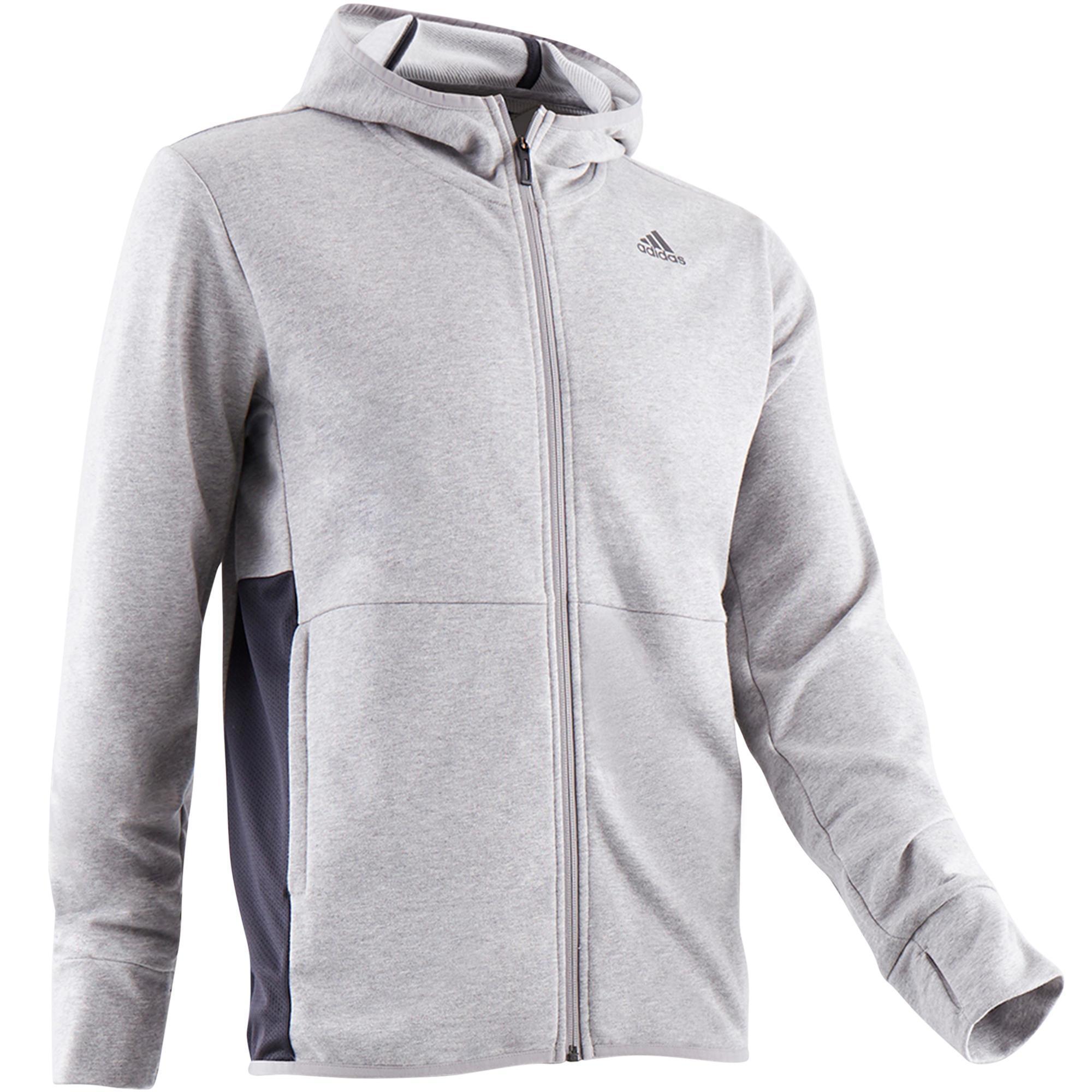 493c312e50e Adidas Hoodie Adidas 560 gym & stretching heren grijs kopen met voordeel