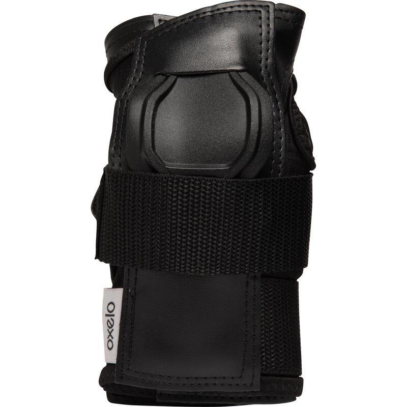 Fit500 Adult Skating Wrist Guards - Black/Grey