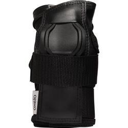 Protège-poignets roller skateboard adulte FIT noirs