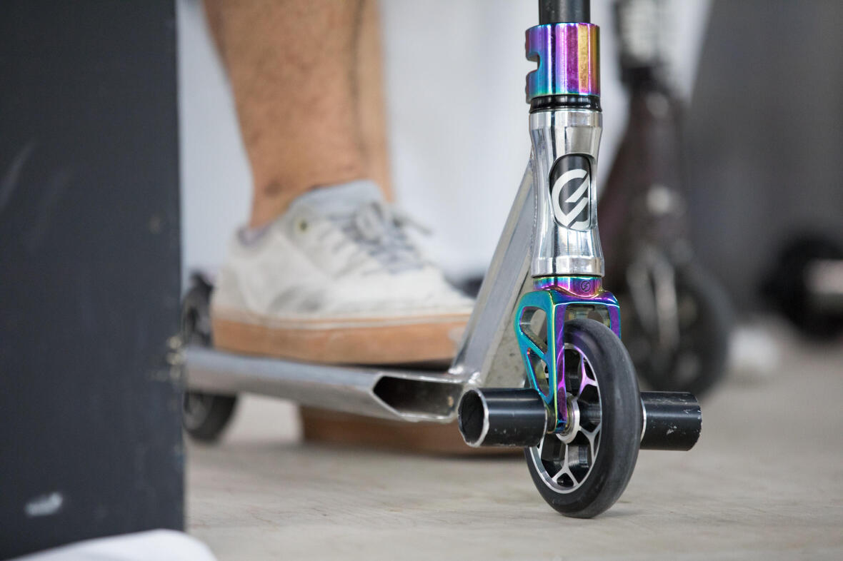 FREESTYLE SCOOTER CUSTOMISATION