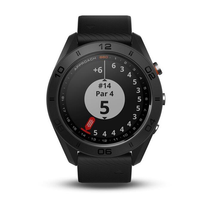 Gps-golfhorloge Approach S60 zwart