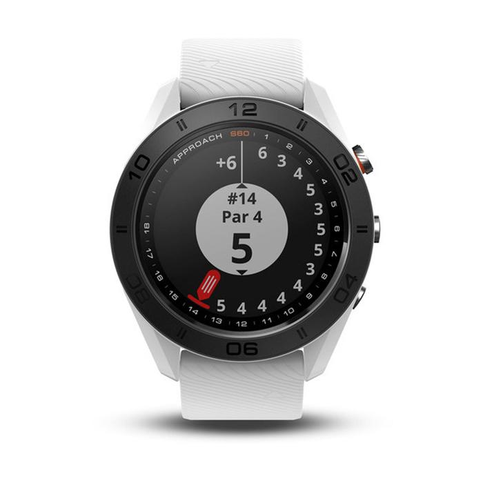 Gps-golfhorloge Approach S60 wit