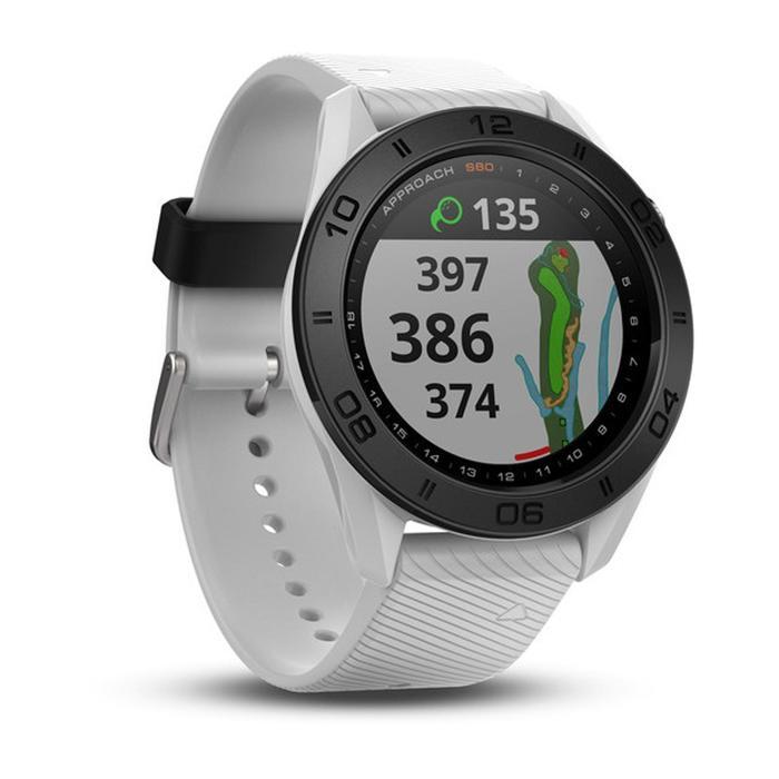Golf GPS-Uhr Approach S60 weiß