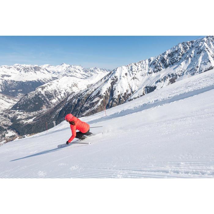 Dons ski-jas voor dames JKT 500 Warm roze