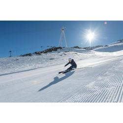 搭配ADIX 700固定器的女款雪道雙板滑雪板 - 黑色