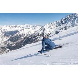 Ski-jas voor pisteskiën dames 580 blauw