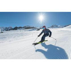 Skistöcke Boost 500 Herren gelb