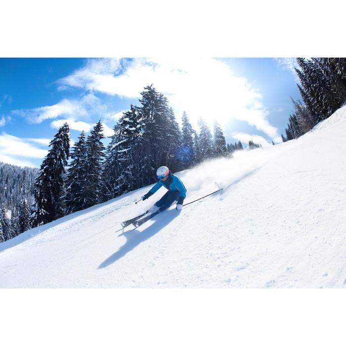 Dames ski-jas voor pisteskiën SKI-P JKT 900 marine en blauw