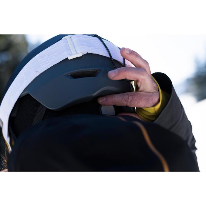 Skihelm voor pisteskiën volwassenen H PST 900 zwart