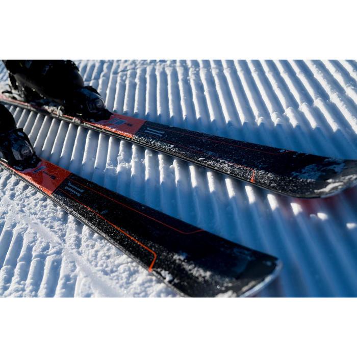 Schoenen voor pisteskiën heren Ski Boot Fit 900 zwart