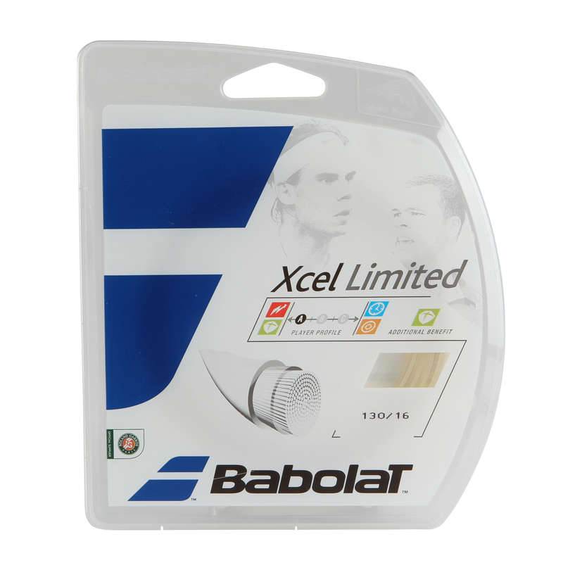 TENNIS STRINGS Squash - XCel Limited 1.30 mm String BABOLAT - Squash