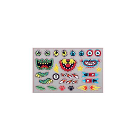 Animals & Robot Stickers B1