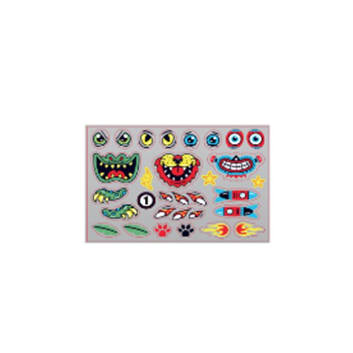 Stickers Oxelo B1 dieren en robot
