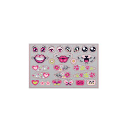 Girls' Stickers B1