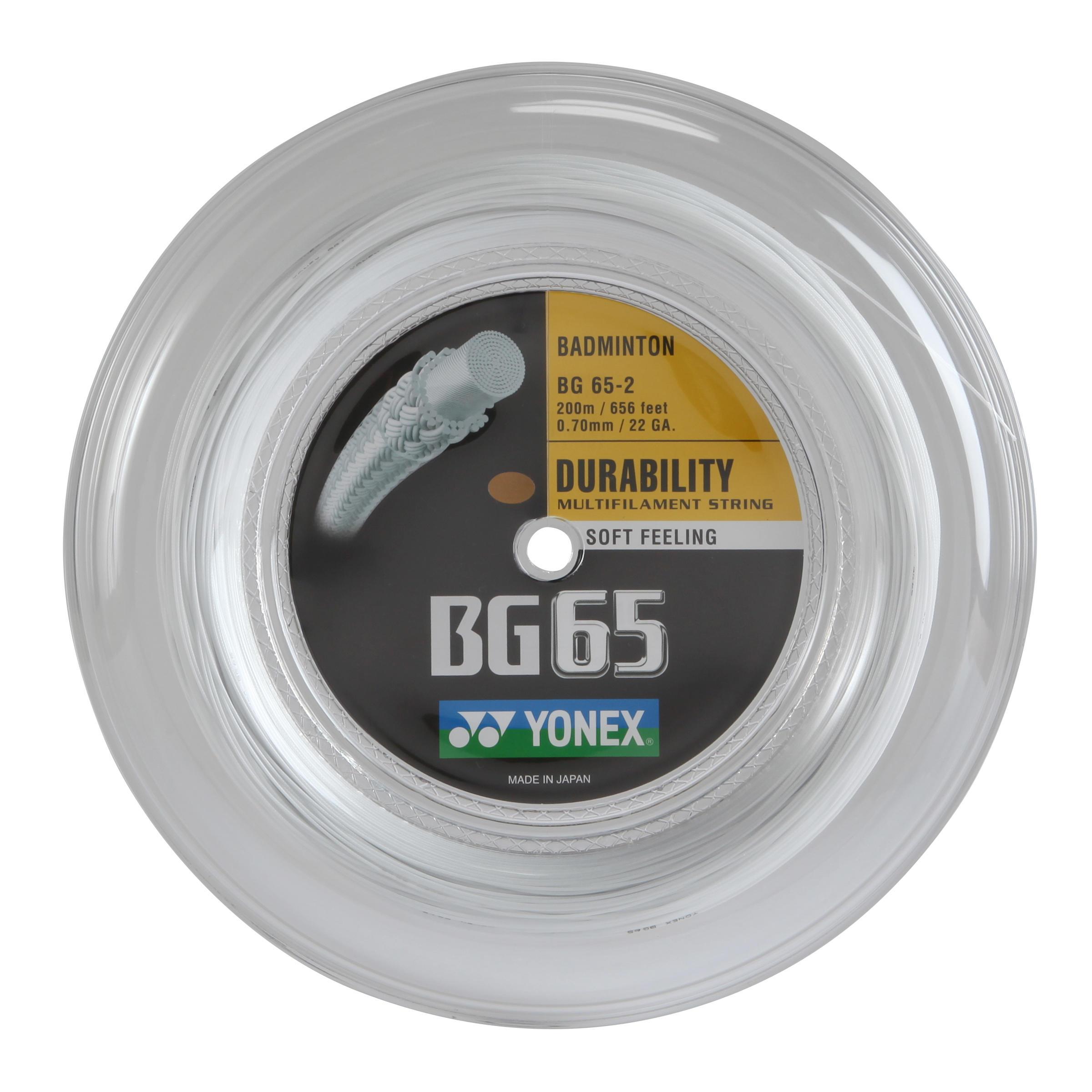 Yonex Badmintonbespanning BG65 wit kopen