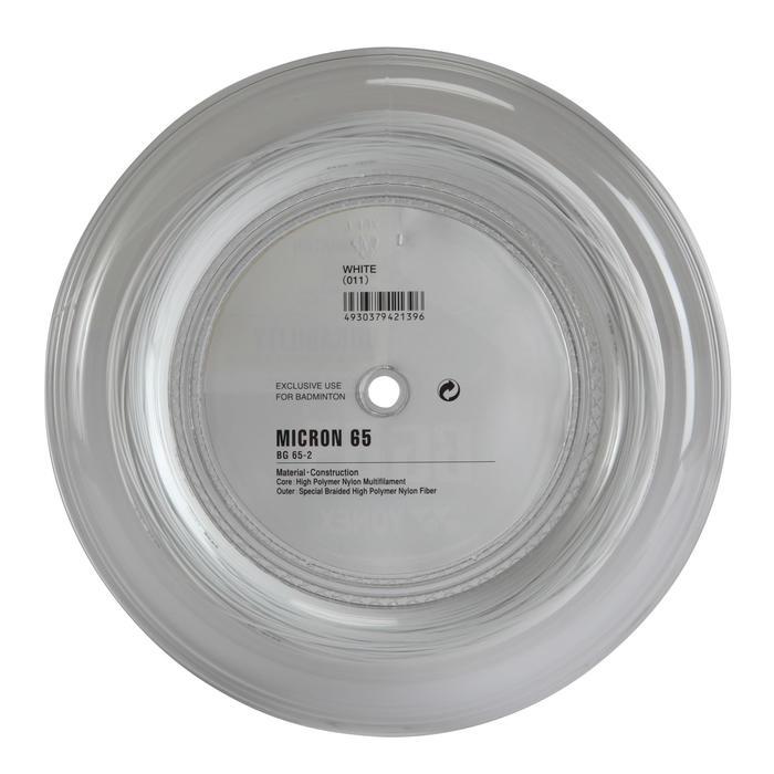 BOBINE DE CORDAGE DE BADMINTON BG65 BLANC - 153000