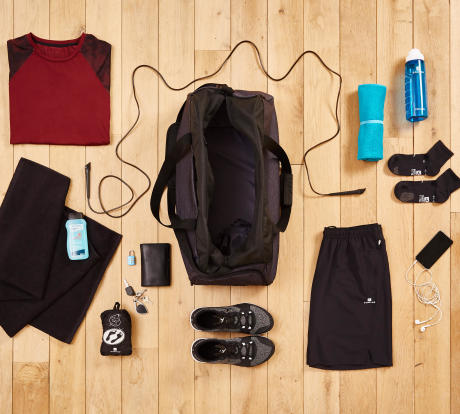 panoplie domyos fitness cardio sac