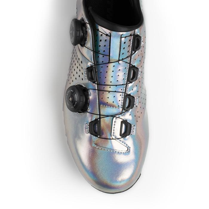 Wielrenschoenen RR900 holographic grijs