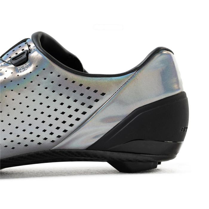 Fietsschoenen Van Rysel iriserend grijs