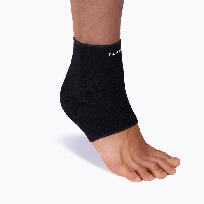 成人款壓縮護踝Soft 100-黑色