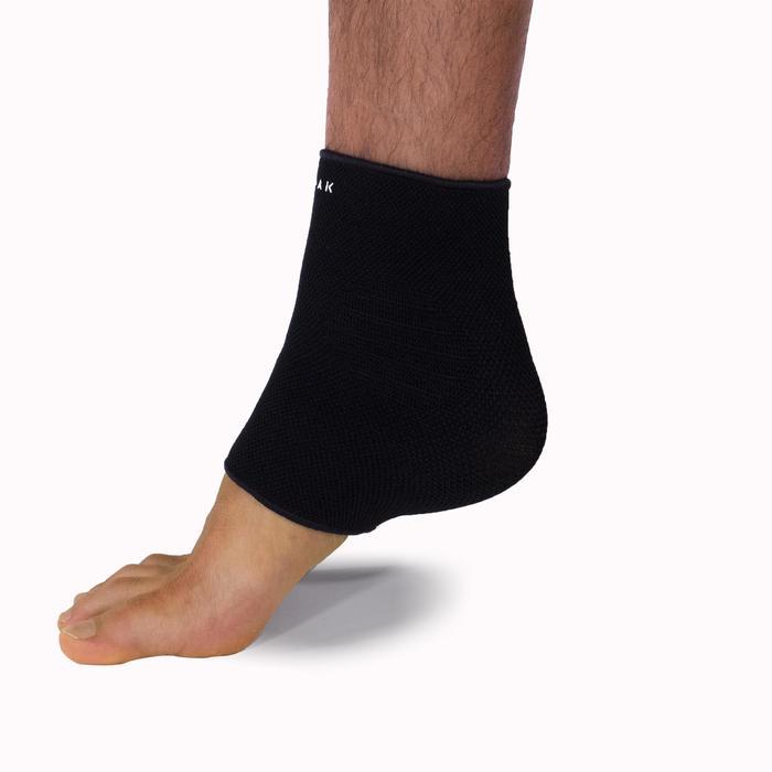 Knöchelbandage Soft 100 links/rechts Erwachsene schwarz