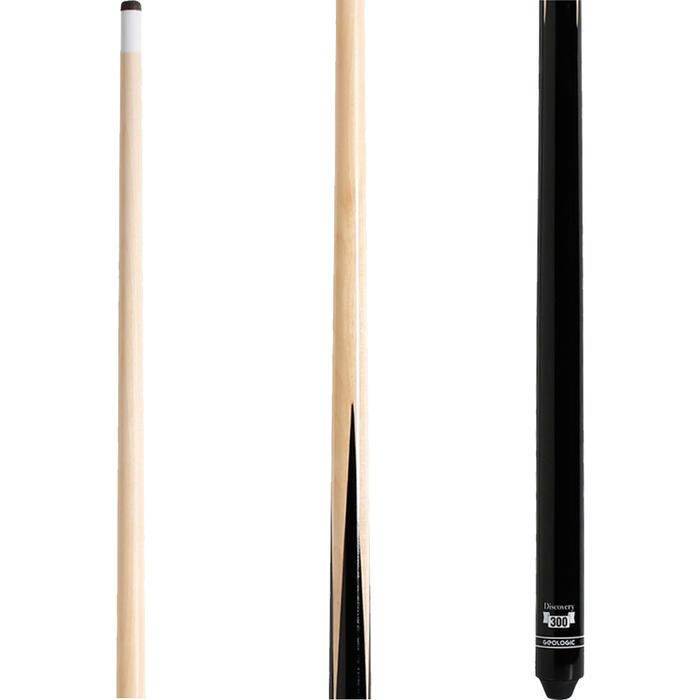 """美式撞球桿Discovery 300,一段式 - 145 cm(57"""")"""