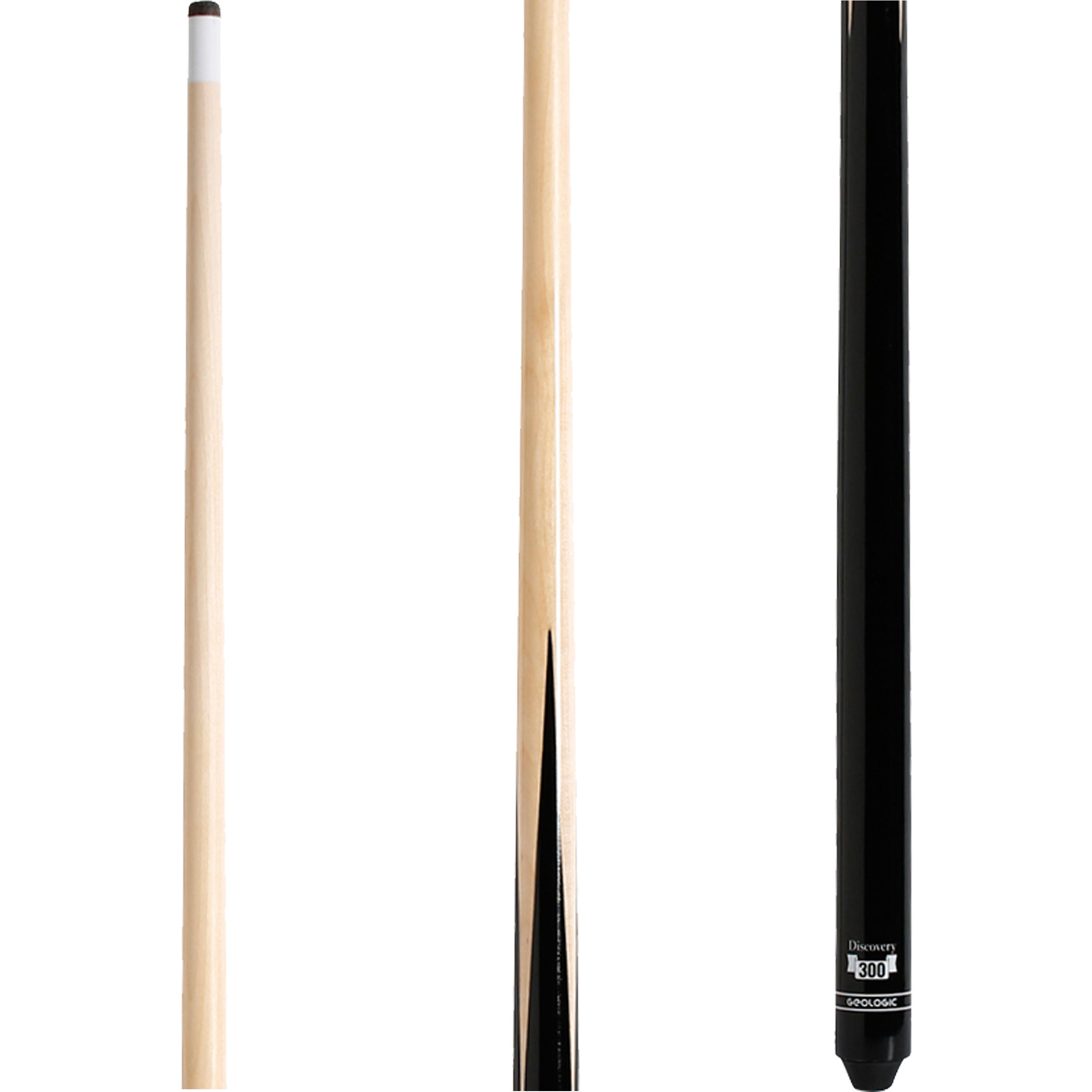 Discovery 300 American Pool Cue, 1-Part - 122 cm (48
