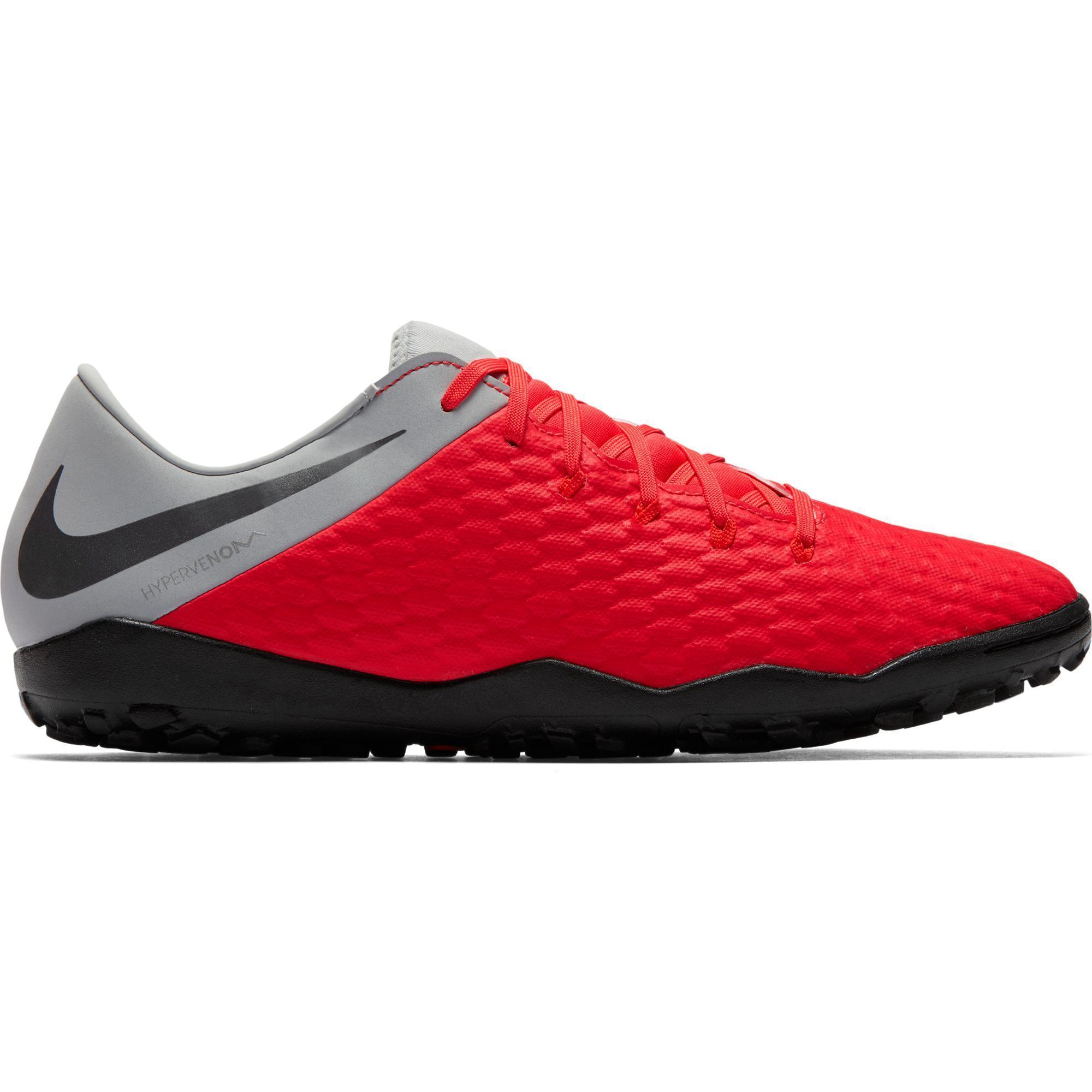 Nike Voetbalschoenen Hypervenom Phantom III Academy TF voor volwassenen rood