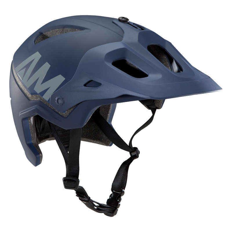 ADULT ALL MOUNTAIN MTB HELMETS Cycling - All Mountain Helmet - Blue ROCKRIDER - Cycling