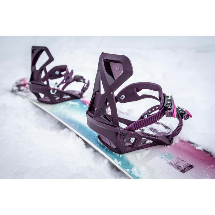 Planche de snowboard piste & all mountain, femme, Serenity 100