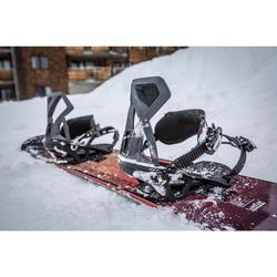單板滑雪板固定器的8個螺絲和8個墊片