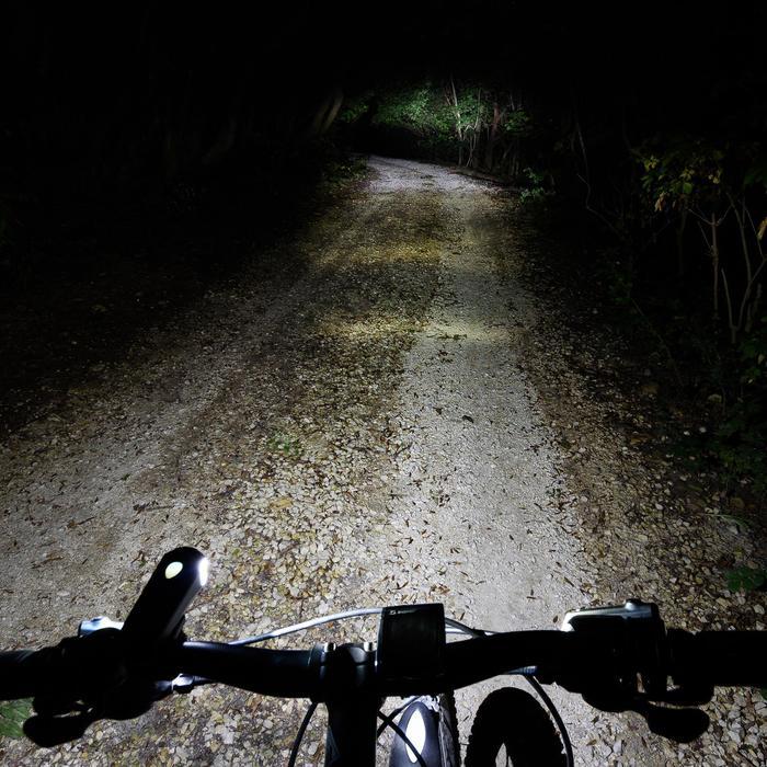 Fahrradbeleuchtung Beleuchtungset 30 LUX USB