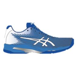 CHAUSSURES DE TENNIS FEMME Gel Solution speed Flash bleue