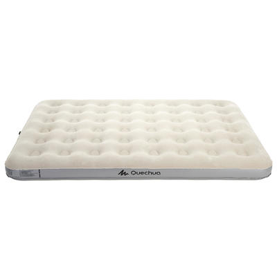 MATELAS DE CAMPING GONFLABLE AIR BASIC _PIPE_ 2 PERSONNES - LARGEUR 140 CM