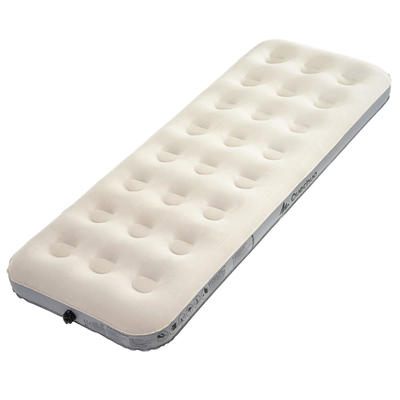 AIR BASIC INFLATABLE CAMPING MATTRESS _PIPE_ 1 PERSON - WIDTH 70 CM