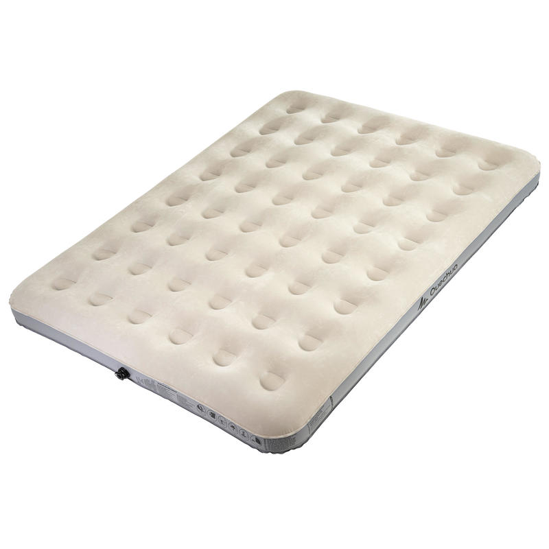 Camping Mattress (Inflatable) 2 person W140 - Grey/White