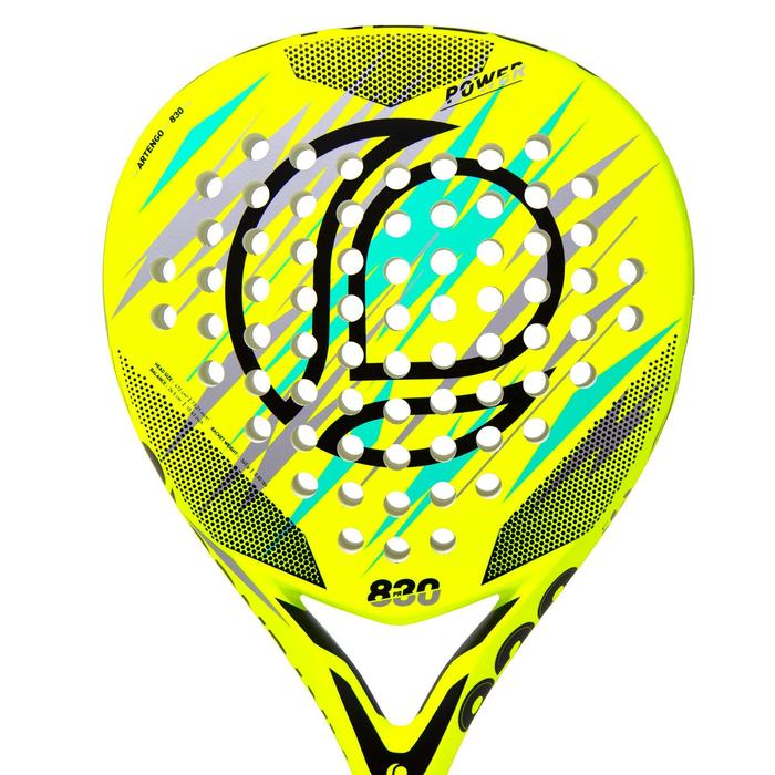Padelracket PR830 Power geel